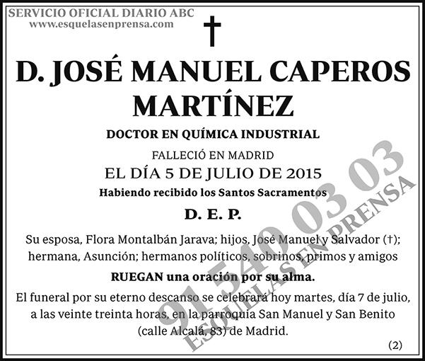 José Manuel Caperos Martínez